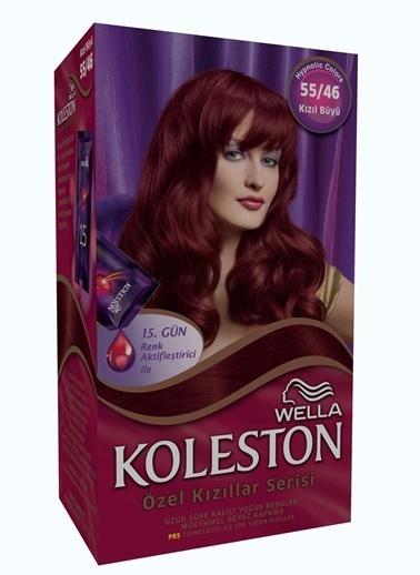 Koleston Koleston Kit Saç Boyası 55/46 Kızıl Büyü Renkli